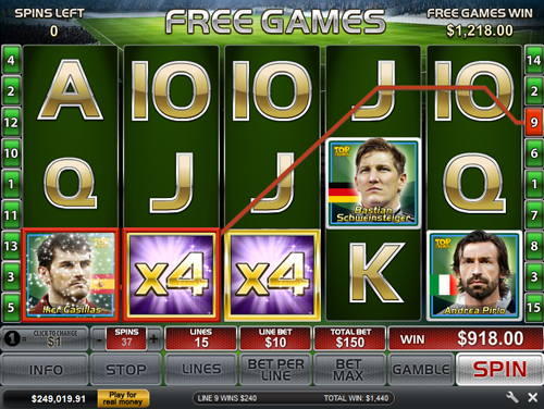 free Top Trumps World Football Stars 2014 Free Spins