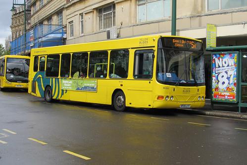 MC500 HF05LYT Yellow Buses DAF SB120 / Wright Crusader