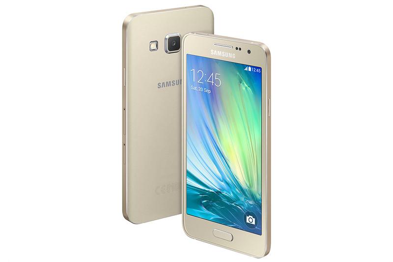 Samsung GALAXY A3 - Champagne Gold