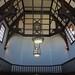 Plafond, ancienne bibliothèque, Maison Cantonale, rue de Nuits, La Bastide, Bordeaux, Gironde, Aquitaine, France. ©byb64