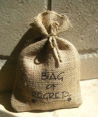 bag of regrets