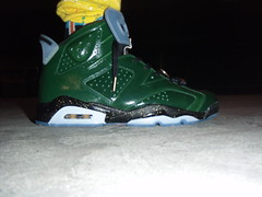 "Air Jordan 6 ""Celebration Pack - Champagne"" (Green/Gold/Glow)"