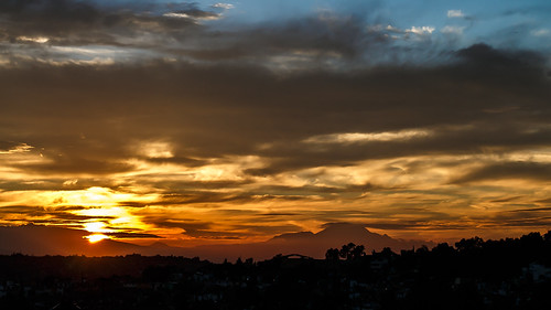 clouds sunrise canon heaven