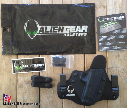 Alien Gear Holster and Stuff in Bag