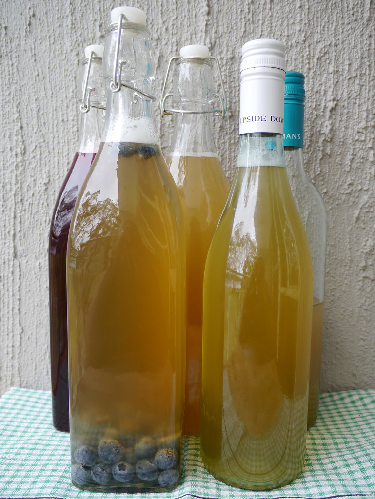 How to make kombucha, Part 3: The second ferment - make kombucha soda #19