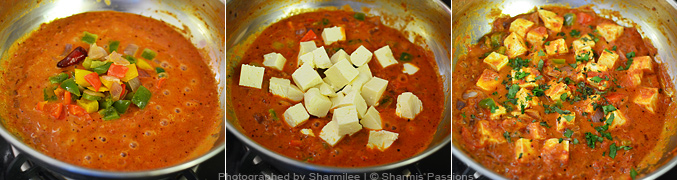 Hot to make Kadai Paneer - Step6