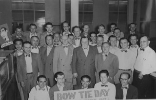 Bow Tie Day in the Comptroller's Office, 1951