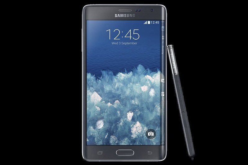 Samsung Galaxy Note Edge 4G+ - Charcoal Black