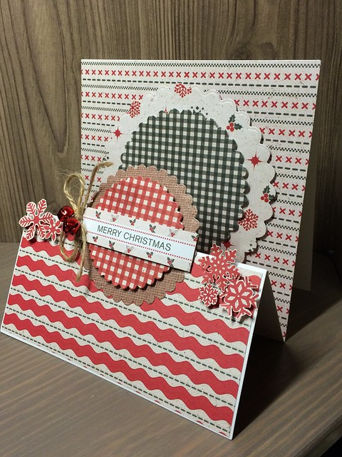 Christmas crafting - Craft Christmas stepper card