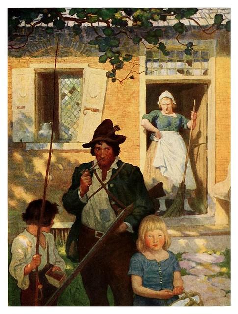 008-Rip Van Winkle-1921- ilustrado por NC Wyeth