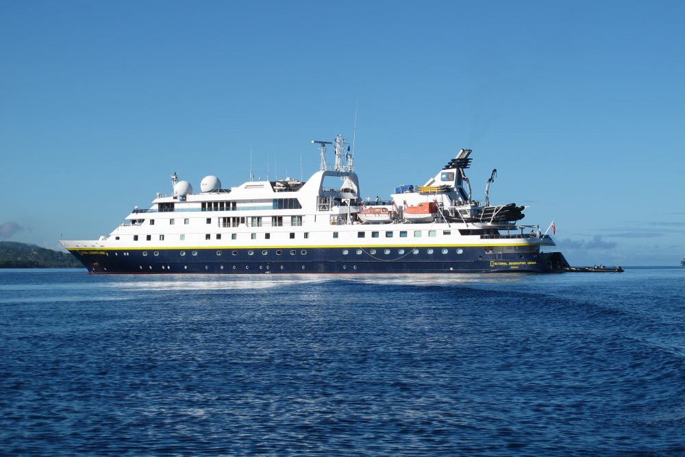 Aboard The Newly Refitted National Geographic Orion