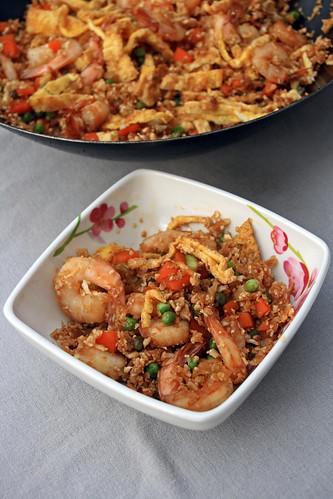 15832839111 155b9d6ec5 Poêlée de chou fleur (Cauliflower Fried Rice)