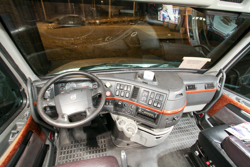 Volvo 730 interior