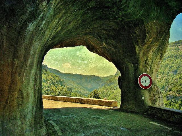 FRANCE - Provence , Gorges de la Nesque, 12182/4304