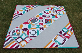 Vice Versa Quilt - Finished!