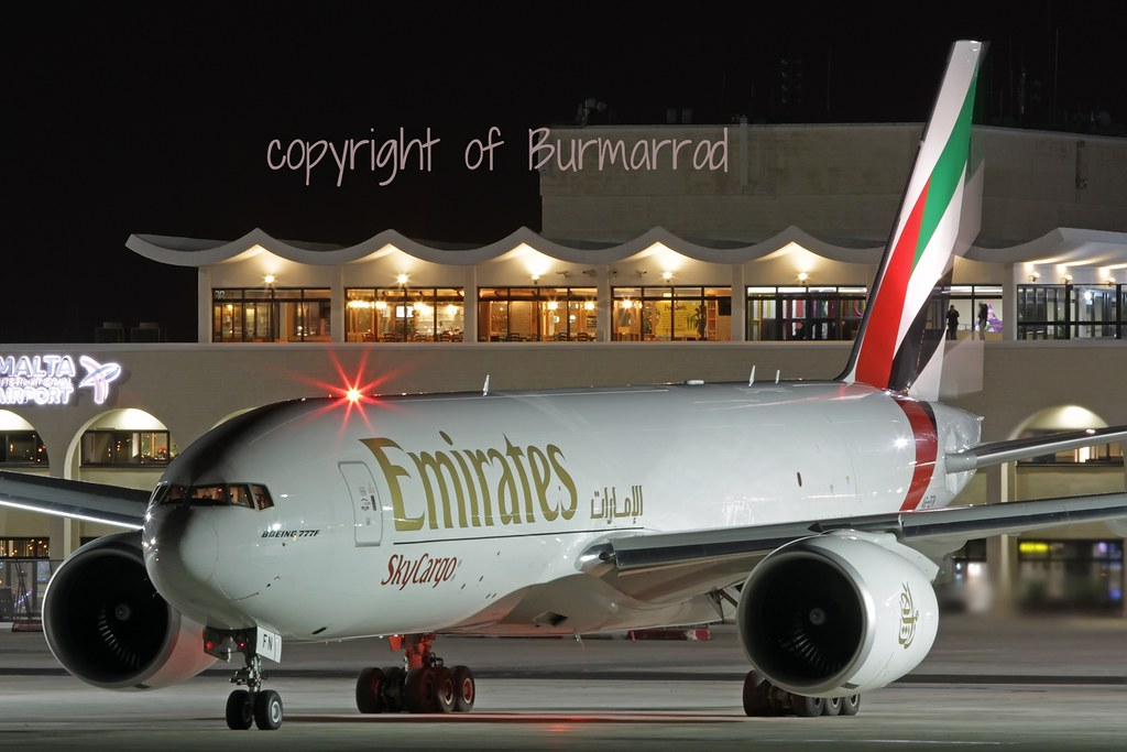 A6-EFN - B77L - Emirates