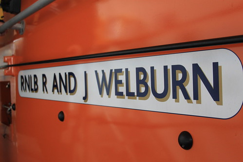 The lifeboat's name