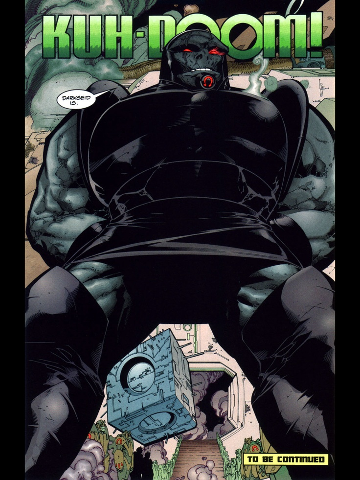 I think Thanos and Darkseid Look Lame  Who's with me?   NeoGAF