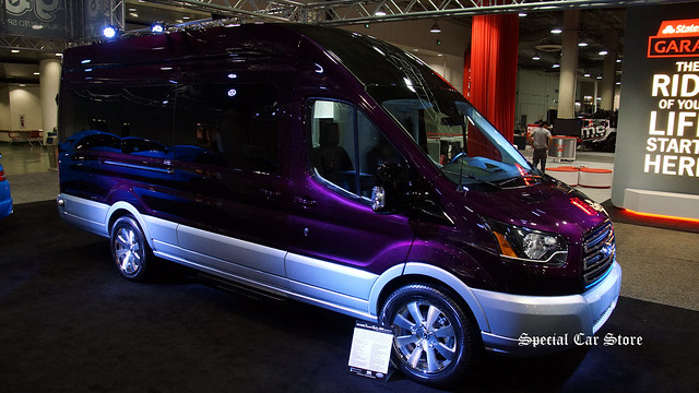 2015 Ford Transit Skyline 350 High Roof Van