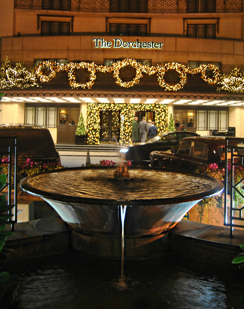 The Dorchester Hotel Park Lane London Christmas 2014