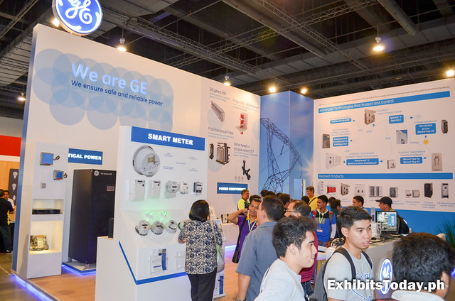 GE Exhibit Stand