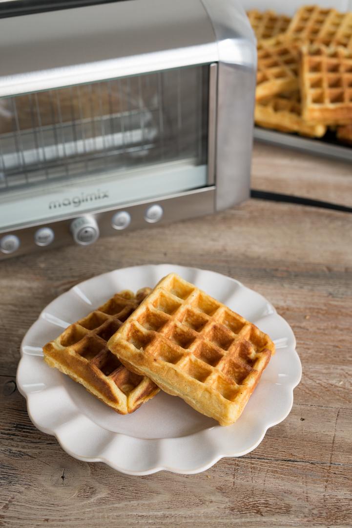 Big Ol Batch Of Buttermilk Belgian Waffles