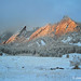 Joanie Weisman - Winter Sunrise on the Flatirons - Runner Up - Scenery