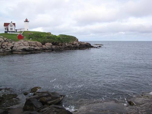 lighthouse maine yorkbeach nubble capeneddick
