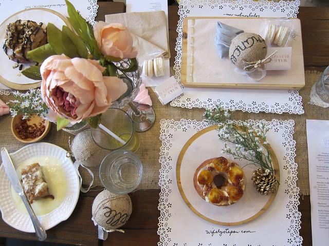 My #blissmakerie table setting