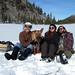 XC skiing near Mammoth Lakes by simonov