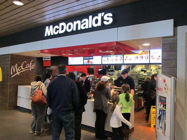 Thruway McDonald's