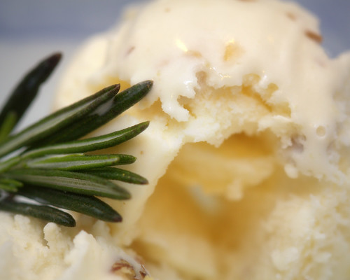 rosemary walnut ice cream
