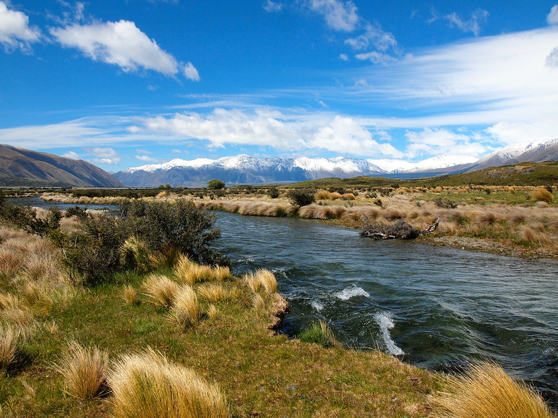 Hiking to Edoras