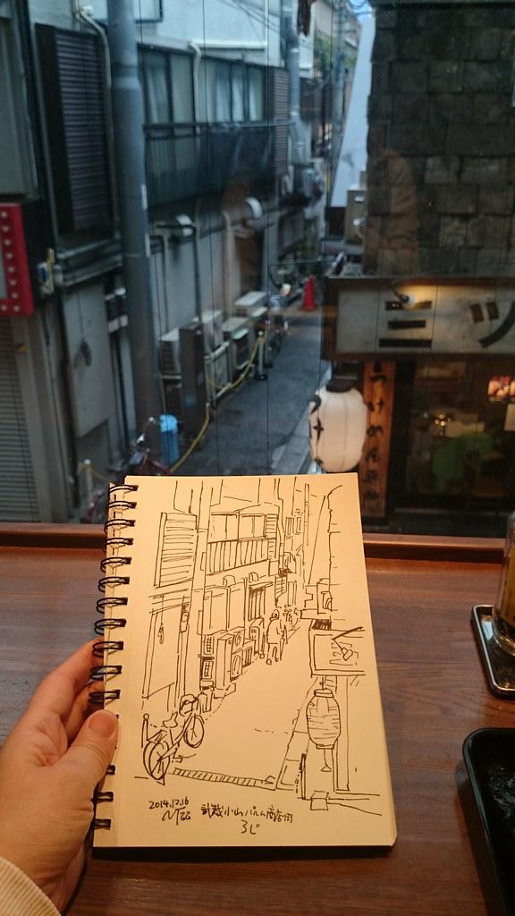 武蔵小山パルム商店街 路地裏