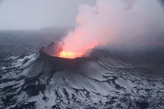 mountain(0.0), types of volcanic eruptions(1.0), lava(1.0), volcano(1.0), lava dome(1.0), shield volcano(1.0), stratovolcano(1.0), volcanic landform(1.0),