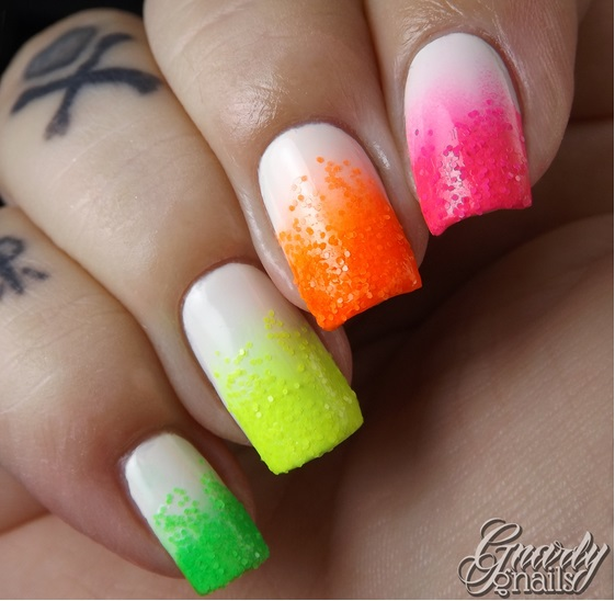 6 gnarly gnails neon everything