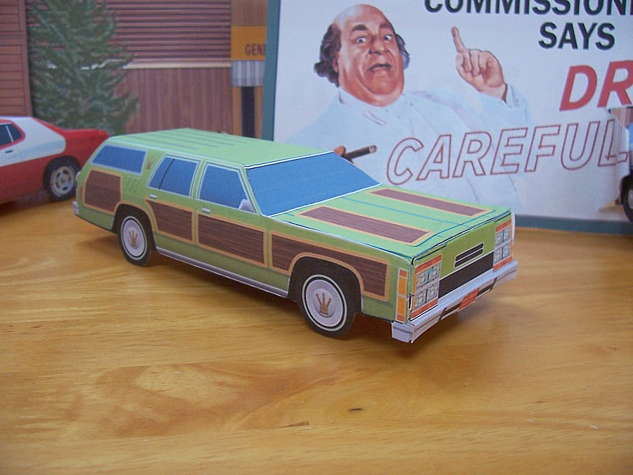 Papercraft Wagon Queen Family Truckster Papercraft Ford
