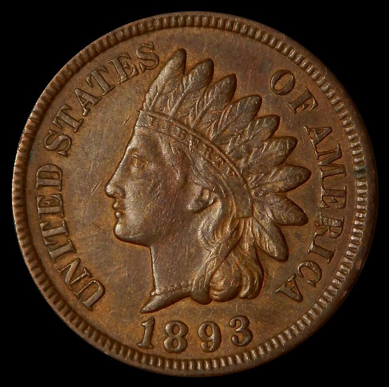 1893 obverse
