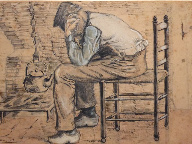 Obra de Van Gogh perteneciente a la colección del BAM de Mons (Valonia, Bélgica)