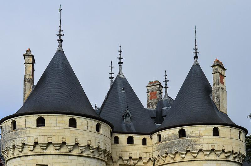 Château de Chaumont Roof