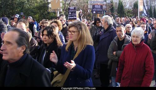 Manif Charlie Hebdo Lyon 11 janvier 2015 Guillotière