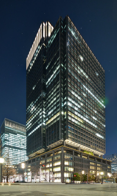 Exterior view of Shin Marunouchi Building (新丸の内ビルディング)