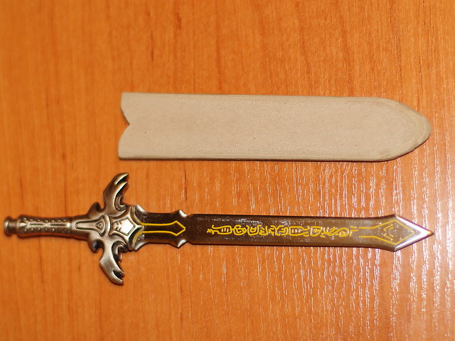 Crafting a scabbard