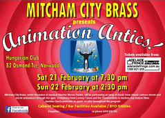 Mitcham City Brass Band: Animation Antics!