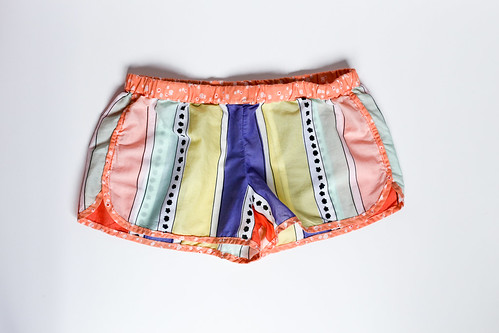 Geometric Bliss City Gym Shorts