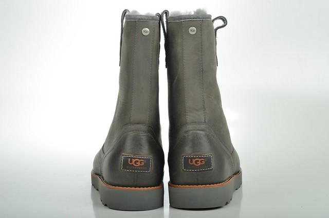 ugg australia stoneman boot lammfell gef ttert 1001594 kalbsleder grau metal 4 flickr. Black Bedroom Furniture Sets. Home Design Ideas