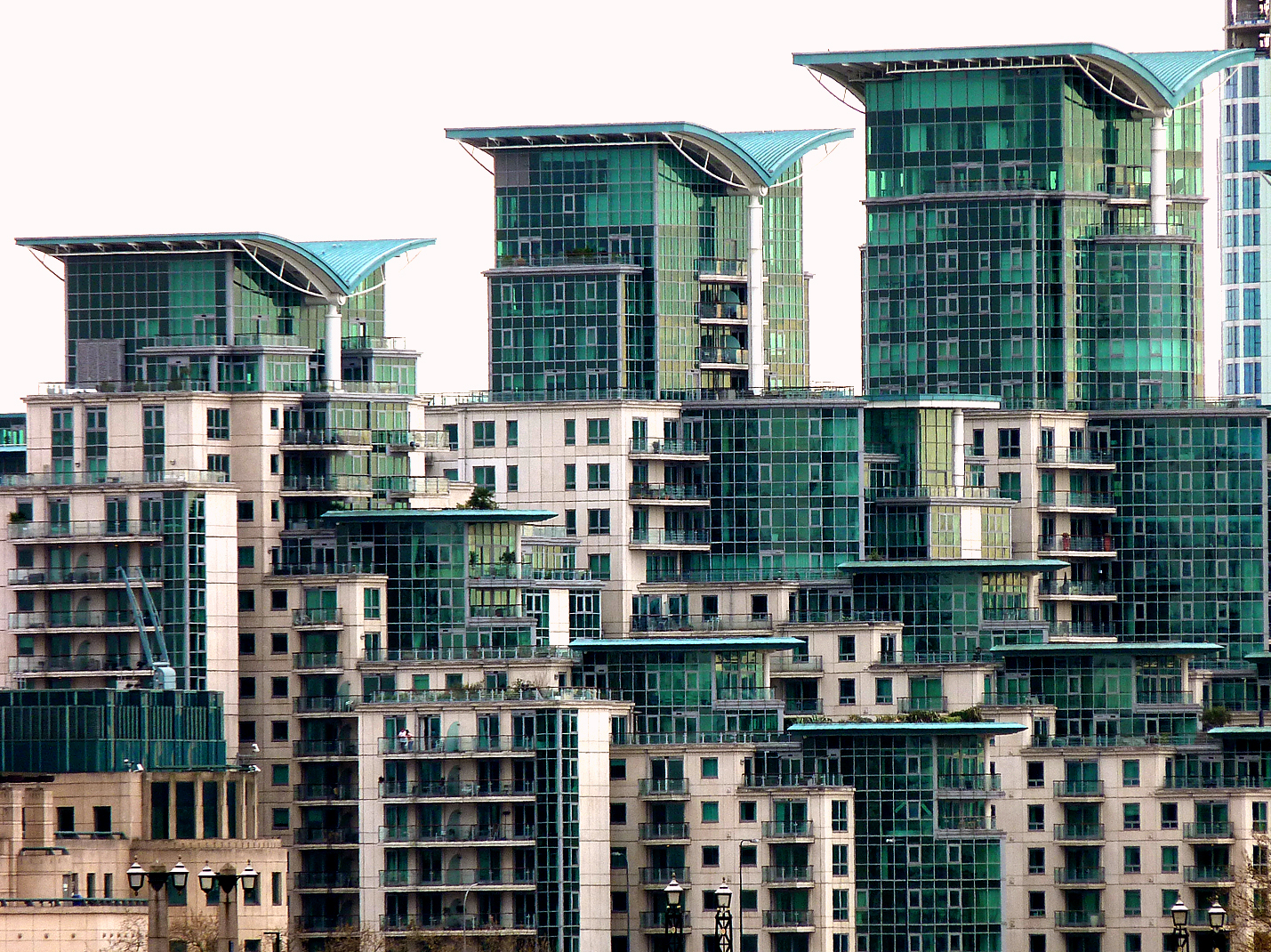 London riverside flats