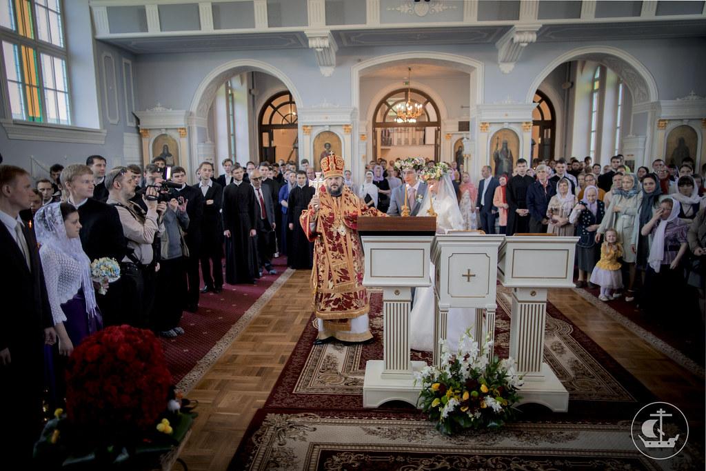 8 мая 2016, Венчальная литургия / 8 May 2016, Wedding Liturgy