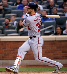 Bryce Harper grounds out
