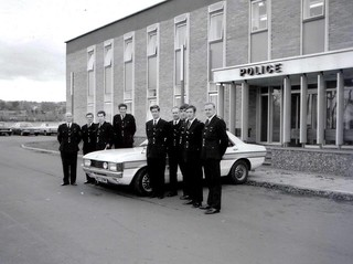 Northern Constabulary Traffic Course November 1975 at Police HQ Inverness